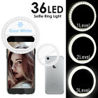 New LED Selfie Ring Fill Light Camera Photography For Android iphone Cell Phone