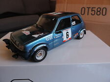 RENAULT 5 R5 ALPINE TURBO GR2 TDC 1979 bleu 1/18 OTTO OTTOMOBILE OTTOMODELS