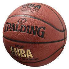Sale Spalding Japan Basketball Nba Gold Ball Size:7 74-077J With Tracking