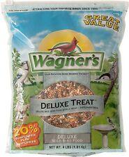 62067 Deluxe Treat Blend Wild Bird Food, 4-Pound Bag,Original Version