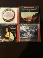 PAISIELLO, CIMAROSA, D'ALBERT, JAMES FENIMORE COOPER - 4 CD - NUOVI SIGILLATI