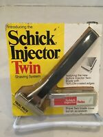 Injector Razor Schick Injector Twin Trial Pack 1975 NIP.