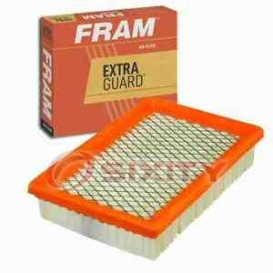 FRAM Extra Guard Air Filter for 1983-1986 Plymouth Turismo 2.2 Intake Inlet tz