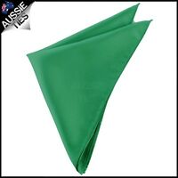 Mens Emerald Green Handkerchief Pocket Square Men's