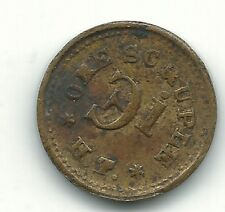 VERY NICE APOTHECARY WEIGHT 1 ONE SCRUPLE HT TOKEN-DOUBLING/CUDS-MAR707