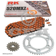 Conjunto de cadenas Polaris predator 500 05-07, cadena RK dd 520 mxz4 94, abierta, naranja 14