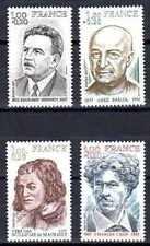 France 1977 Yvert n° 1953 à 1956 neuf ** 1er choix