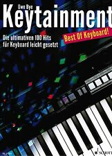 Keyboard Noten : Keytainment - Best of Keyboard - 100 Hits  leicht - leiMittel