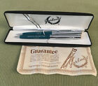 Vintage+Garland+Pen+And+Pencil+Set+1980+Green+Mountain+TSPS+Boxed