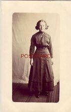 posing in her Sunday Best - LENA EDRICH (Hoven, South Dakota?)