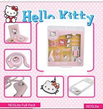 Full Pack de Hello Kitty 12 accesorios Nintendo Ds Lite- licenciado y original