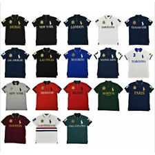 Polo Ralph Lauren Men's Custom Slim Fit Polo Mesh CITY Shirts NWT