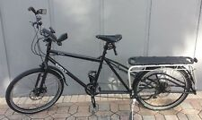 2013 Surly Big Dummy Bicycle Black Cargo Bike with New Surly Bags XtraCycle Deck