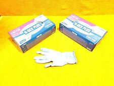LOT OF (2) BOXES OF (50) BEST N-DEX PLUS NITRILE SIZE 8005S SMALL MEDICAL GLOVES