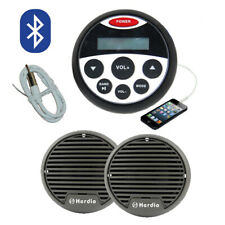 Marine Bluetooth Radio Kit MP3/USB/AM/FM/Ipod NEW Latest Boat Stereo Compact