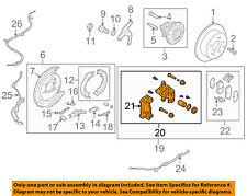KIA OEM 10-13 Forte Rear-Brake Disc Caliper 583101MA40