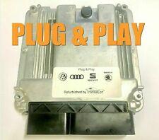 VW GOLF MK5 2.0 TDI BKD ECU PLUG & PLAY IMMO OFF TUNED 03G906016ET 0281011843
