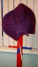 New ROCHA JOHN ROCHA Debenhams Ladies Purple Hat ONE SIZE