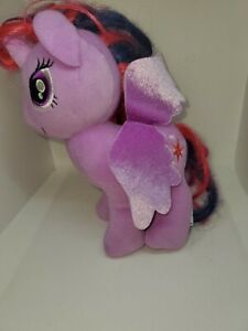 "My Little Pony Twilight Sparkle 7"" Plush Unicorn  Stuffed Animal Toy preowned"