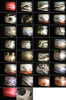 Erdbeben in Kalifornien,San Andreas Spalte 8 mm Film 1970 Jahre.Antique Film