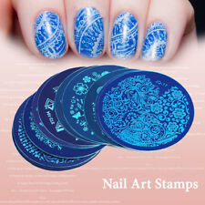 Nail Art Stamping Plate Stainless Steel Stencil Nail Decoration Manicure tool