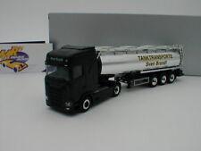 "Herpa 932684 - Scania CS HD Tank-Sattelzug "" Tanktransporte Sven Brandt "" 1:87"