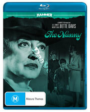 The Nanny NEW Classic Blu-Ray Disc S. Holt Bette Davis Wendy Craig Jill Bennett