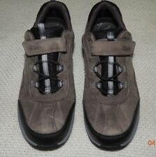 CLARKS ACTIVE AIR BROWN LEATHER OXFORDS SNEAKER/SHOES MEN'S 51/2 W WO'S 7.5 EUC!