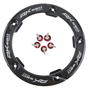 Motorcycle Real Carbon Transmission Chains Belt Pulley Cover for KYMCO AK550