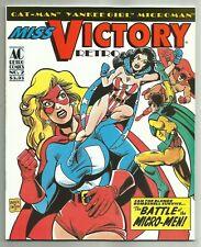 MISS VICTORY RETRO COMICS #2 (Good Girl Art, Sexy Superheroine, Catman) AC, 1997