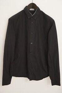 Men Dior Formal Shirt Classic Cotton Black Slim Fit 39 XS EU39 XMD7
