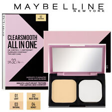 [MAYBELLINE] Clear and Smooth All in One Shine Free Cake Face Powder SPF32 PA