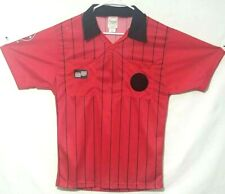 OFFICIAL SPORTS / Soccer Referee Economy Jersey / Short Sleeve / red