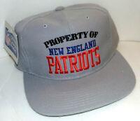 Property of New England Patriots 1980s New Era Cap Unworn NOS Licensed