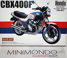 KIT HONDA CBX 400F 1981 1/12 AOSHIMA 03166 N°28 SERIES