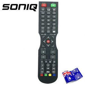 For SONIQ QT1E QT155 QT166 QT138 Remote TV E55V13A E55V14B + HOME Button