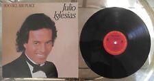 """JULIO IGLESIAS 1100 Bel Air Place 12"""" Vinyl LP COLUMBIA QC 39157"""