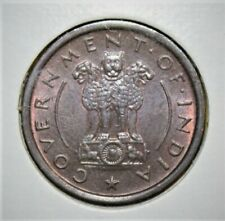 India 1 Pice 1954 Brilliant Uncirculated Coin