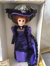"""Lillian Russell Effanbee Doll Women Of The Ages 15"""" """"Mib"""" W/,Tag"""