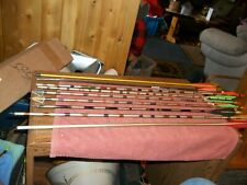 9-Pre-Owned  Arrows 2 Have With Broad Heads    See Description