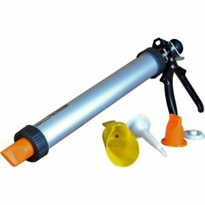 New Mortar Gun Brick Pointing And Tile Grouting Cement Applicator Tool Diy Home