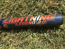 Dudley Lightning Legend LLESP2 senior softball bat 1.21 orange/blue endload 26oz