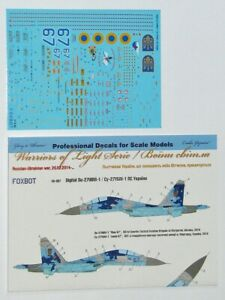 Foxbot 48-067A 1/48 Sukhoi Su-27UBM, Ukranian Air Forces, digital camouflage UK