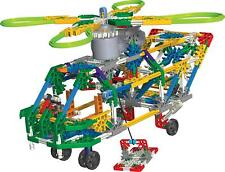 K'nex Transport Chopper Helicopter Building Set 11413 342 Pieces Age 7+ Motor!