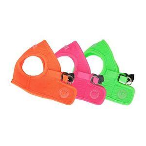 Puppia - Dog Harness Soft Mesh Vest - Neon - Pink, Green, Orange - S, M, L