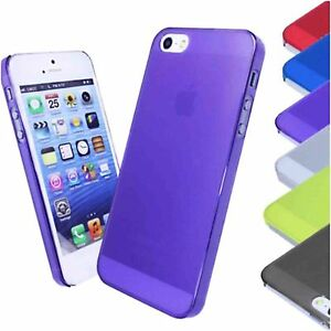 iPhone 5 5s iPhone SE coloured ultra thin case BUY 1 GET 1 FREE