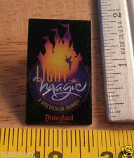 Disney Pin Disneyland Light Magic Tinkerbell spectacular journey