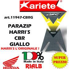 ADESIVO PARASERBATOIO HARRI'S CBR GIALLO 11947 CBRG ORIGINALE ARIETE per HONDA