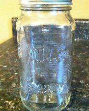 ATLAS MASON CANNING JAR WITH LID