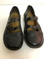 Noat Black Leather Loafers Shoes Womens EU 38 US 7 7.5 M Comfort